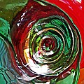 Glass Abstract 573 by Sarah Loft