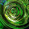 Glass Abstract 575 by Sarah Loft