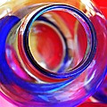 Glass Abstract 592 by Sarah Loft