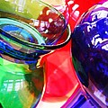 Glass Abstract 618 by Sarah Loft