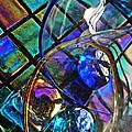 Glass Abstract 690 by Sarah Loft