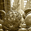 Glass Balls Japanese Glass Buoys by Artist and Photographer Laura Wrede