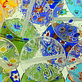 Glass Beads Abstract by Grigorios Moraitis