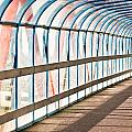Glass Covered Walkway by Tom Gowanlock