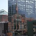 Glass Facade Reflection - Aquarium Baltimore by Christiane Schulze Art And Photography