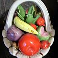 Glass Fruit Bowl by HollyWood Creation By linda zanini