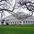 Glass House At Kew Gardens by Helene U Taylor
