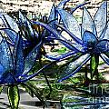 Glass Lilies by Susan Herber