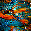 Glass Macro Abstract Rto by David Patterson