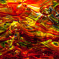 Glass Macro - Burning Embers by David Patterson