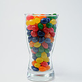 Glass Of Jellybeans by Scott Angus