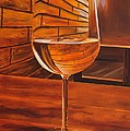 Glass Of Viognier by Alan Conder