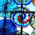 Glass Pinwheels by Donna Blackhall