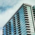 Glass Skyscraper Downtown Nashville Tennessee by Jai Johnson