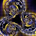Glass Spirals by Elizabeth McTaggart