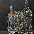 Glass Still Life by Steve Cost