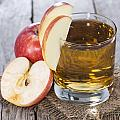 Glass With Apple Juice by Handmade Pictures