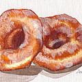 Glazed Donuts by Debi Starr