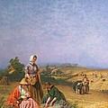 Gleaning by George Elgar Hicks