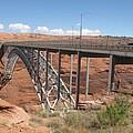 Glen Canyon Bridge by Christiane Schulze Art And Photography