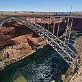 Glen Canyon Dam Bridge by Greg Nyquist