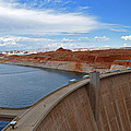 Glen Canyon Dam by Jeanne May