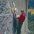 T-306607-glen Denny With Me On El Cap First Ascent 1962 by Ed  Cooper Photography