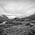 Glen Etive Road And River by John Farnan