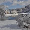 Glenmorgan After A Snow by Mark J Curran