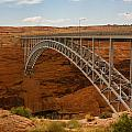 Glenn Dam Bridge by Kathleen Odenthal