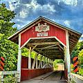 Glessner Covered Bridge by Adam Jewell