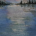 Glimmering Water by Sally Rice