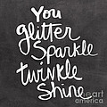 Glitter Sparkle Twinkle by Linda Woods