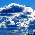 Glorious Clouds II by Kathy Sampson
