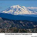 Glorious Mount Adams by Tikvah's Hope
