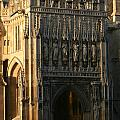 Gloucester Cathedral Entrance by Andy Lloyd