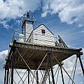 Gloucester Harbor Beacon Station by John M Bailey