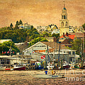 Gloucester Harbor by Claudia Kuhn