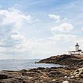 Gloucester Lighthouse by John M Bailey