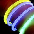Glow-in-the-dark Bracelets by Martyn F. Chillmaid