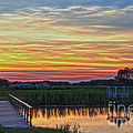Glowing East Coast Sunset by Tom Gari Gallery-Three-Photography