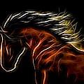 Glowing Horse by Daniel Eskridge