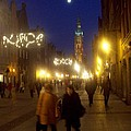 Glowing Old Gdansk by J Anthony Shuff