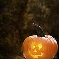 Glowing Pumpkin by Amanda Elwell