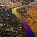 Glowing River. Rainbow Earth by Jenny Rainbow