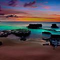 Glowing Sandy by Kenway Kua