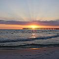 Glowing Sunset by Sandy Keeton