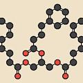Glycerol Phenylbutyrate Drug Molecule by Molekuul