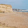 Glyne Gap Beach In England by David Fowler