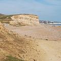 Glyne Gap Cliffs In Sussex by David Fowler